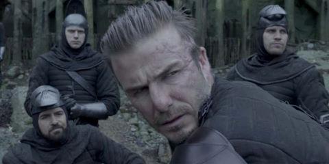 Siêu sao bóng đá David Beckham bị chê tơi tả khi đóng phim