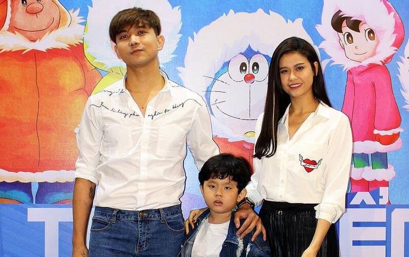 Trương Quỳnh Anh, Tim đưa con trai đi xem phim sau khi ly hôn