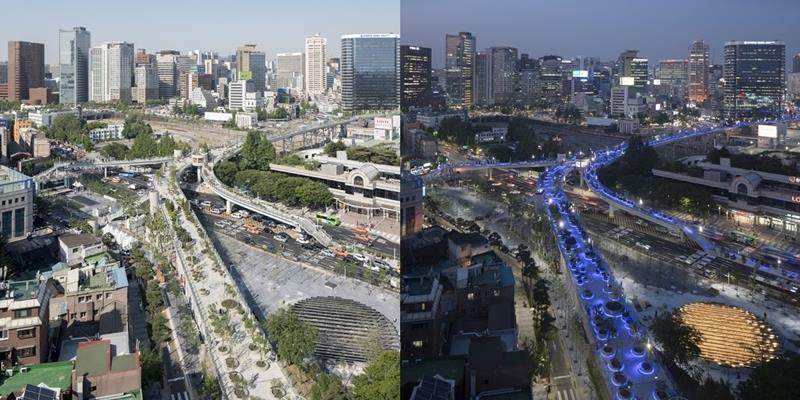 """Hàn Quốc biến ước mơ """"đi bộ trên không trung"""" thành hiện thực"""