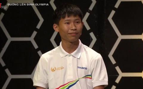 Nam sinh Hà thành chiến thắng áp đảo tại cuộc thi tuần Olympia