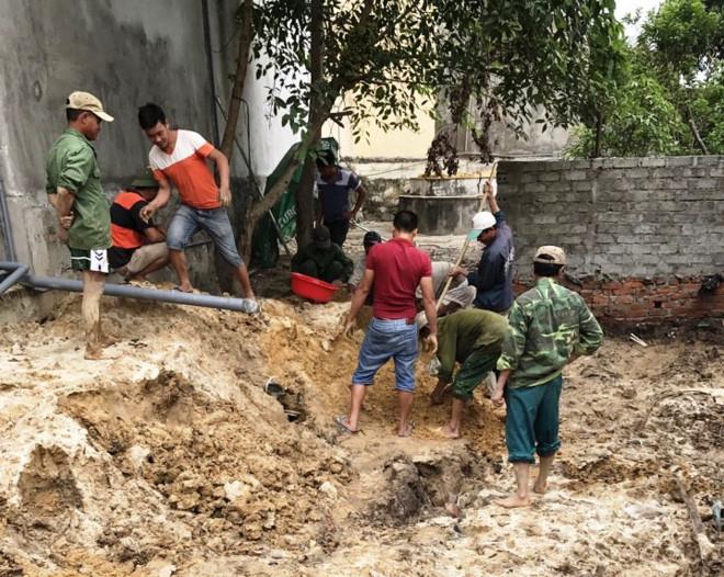 Hơn 300 bộ hài cốt trong 9 hầm mộ dưới nhà dân ở Quảng Bình