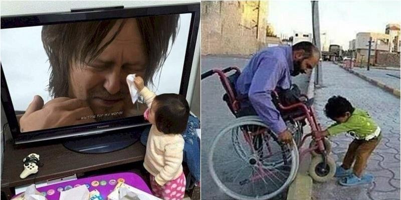 Những bức ảnh cảm động về lòng tốt khiến bao trái tim tan chảy