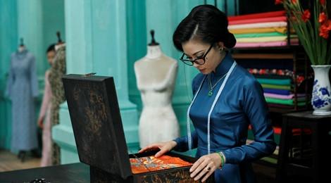 """Tạo hình khác lạ của Ngô Thanh Vân trong """"Cô Ba Sài Gòn"""""""