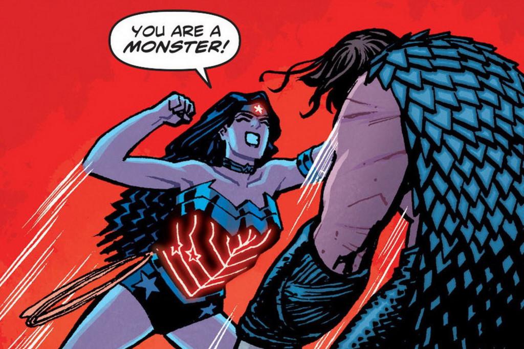 Khi siêu anh hùng Wonder Woman trở nên tàn nhẫn, độc ác