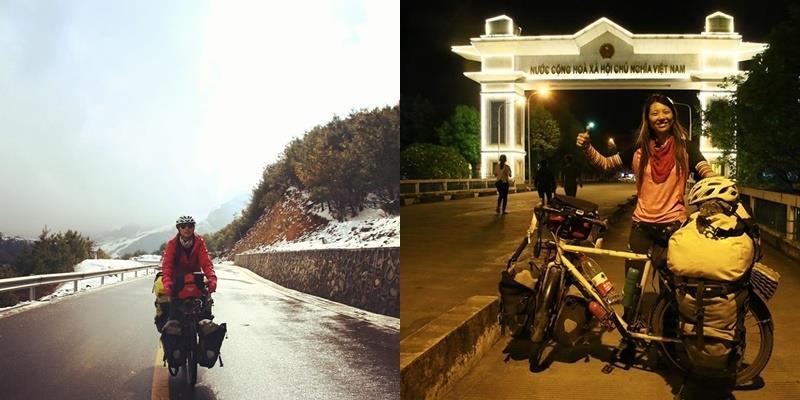 Nữ phượt thủ đi vòng quanh thế giới trong 5 năm bằng... xe đạp