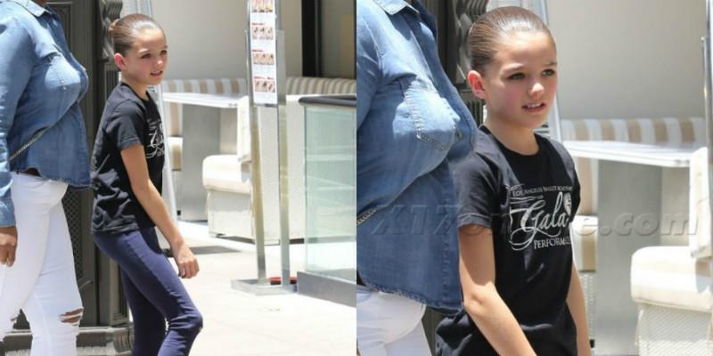 Chỉ mới 11 tuổi, con gái Tom Cruise đã đẹp như minh tinh điện ảnh