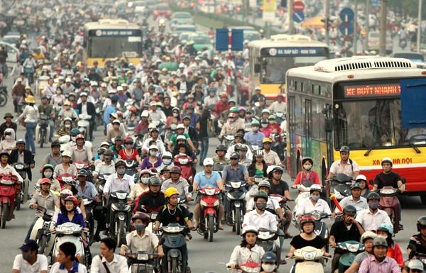 Giám đốc Sở GTVT Hà Nội: Cấm xe máy để giảm ùn tắc, ô nhiễm