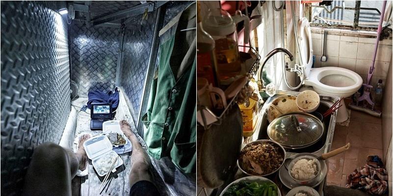 Sau vẻ hoa lệ của Hồng Kông là những căn phòng chỉ nhỉnh hơn quan tài