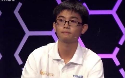 """Nam sinh thi Olympia đạt điểm tối đa trong phần """"Tăng tốc"""""""