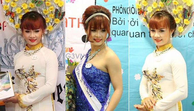 Lan Trinh đoạt ngôi vị Miss Thân Thiện trong cuộc thi nhan sắc dành cho người đẹp chuyển giới