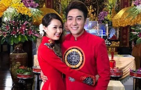 Ca sĩ Huy Nam nhóm La Thăng bất ngờ cưới vợ