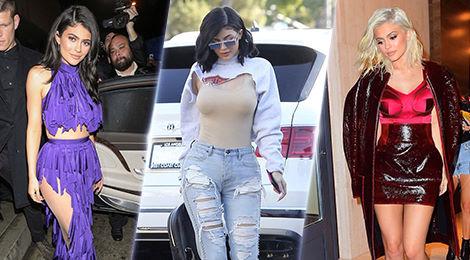 """Những bộ trang phục kỳ quái của """"hot girl số 1 Hollywood"""" Kylie Jenner"""