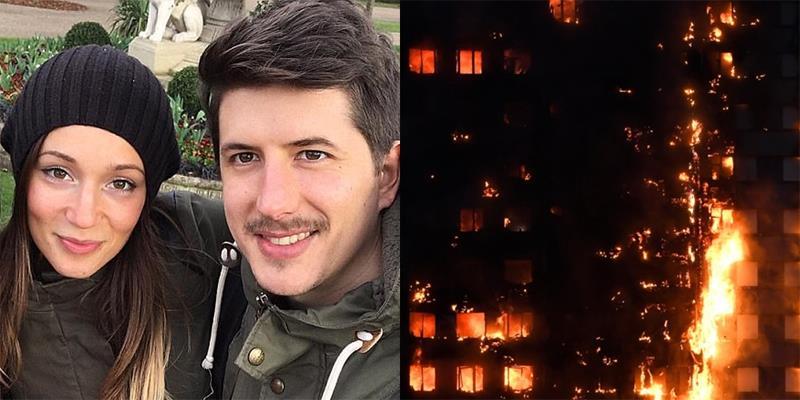Xót xa lời nhắn cuối cùng của cặp đôi mắc kẹt ở tòa nhà cháy ở London