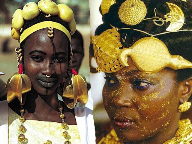 Sốc với độ chịu chơi của các nàng tiểu thư châu Phi
