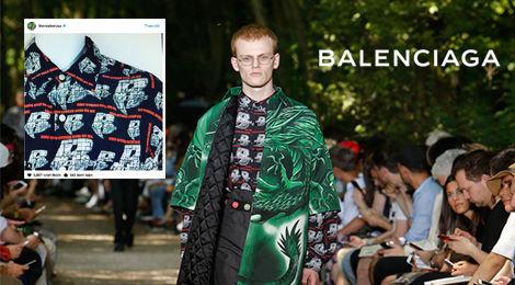 Nhà mốt Balenciaga lại bị nghi đạo ý tưởng