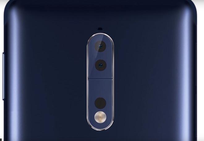 Thiết kế Nokia 9 với camera kép nằm dọc
