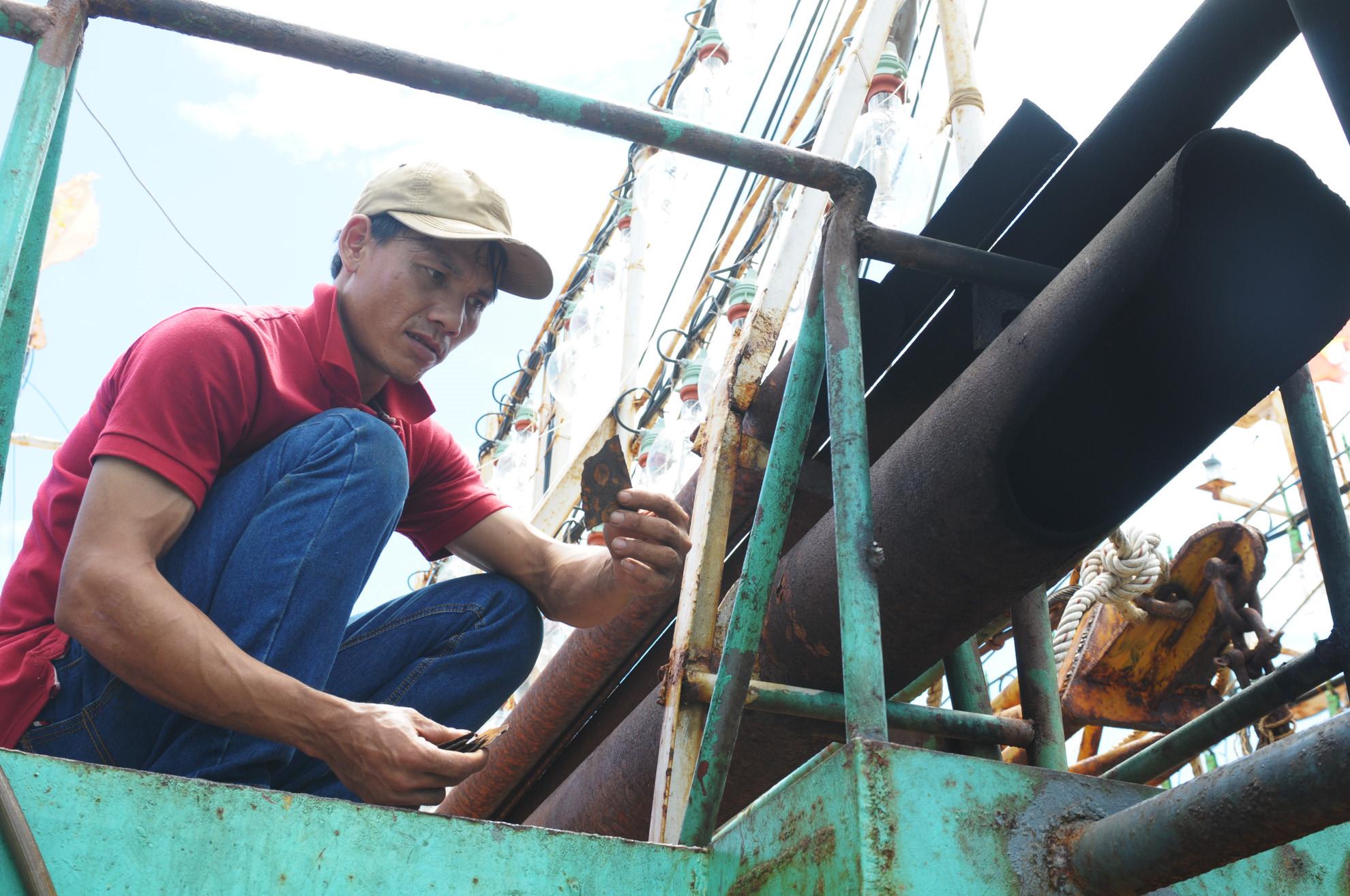 Bộ Công an thanh tra quá trình đóng tàu của công ty Nam Triệu
