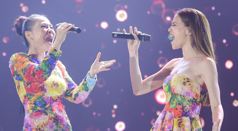 Hà Hồ và Thu Minh thể hiện đẳng cấp trên sân khấu