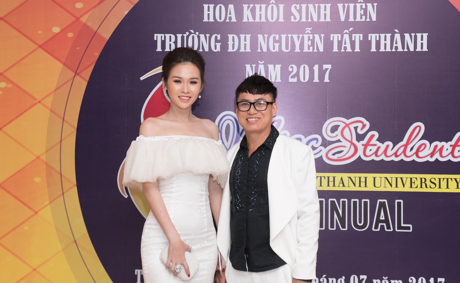 """NTK Tommy Nguyễn làm giám khảo """"Chung kết Hoa khôi Sinh Viên ĐH Nguyễn Tất Thành"""""""