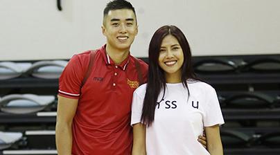 Nguyễn Thị Loan thừa nhận hẹn hò ngôi sao bóng rổ Việt Nam