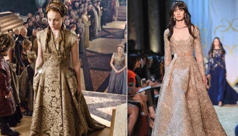 """""""Game of Thrones"""" truyền cảm hứng mới cho thời trang"""
