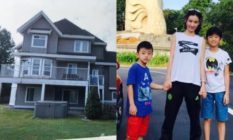 Báo Trung hé lộ biệt thự của Trương Bá Chi ở Canada