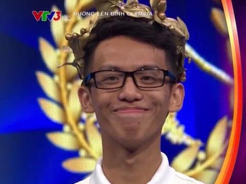 Nam sinh có điểm số dẫn đầu cả 4 vòng ở cuộc thi tuần Olympia