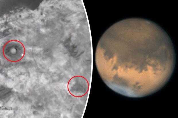 Phát hiện kim tự tháp và nhà mái vòm trên sao Hỏa?