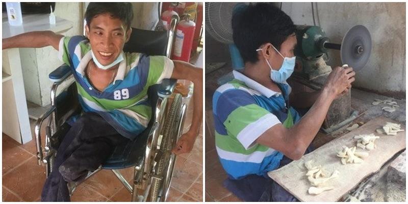 Chàng trai bại liệt ngày bán vé số, đêm đi học trở thành ông chủ lớn