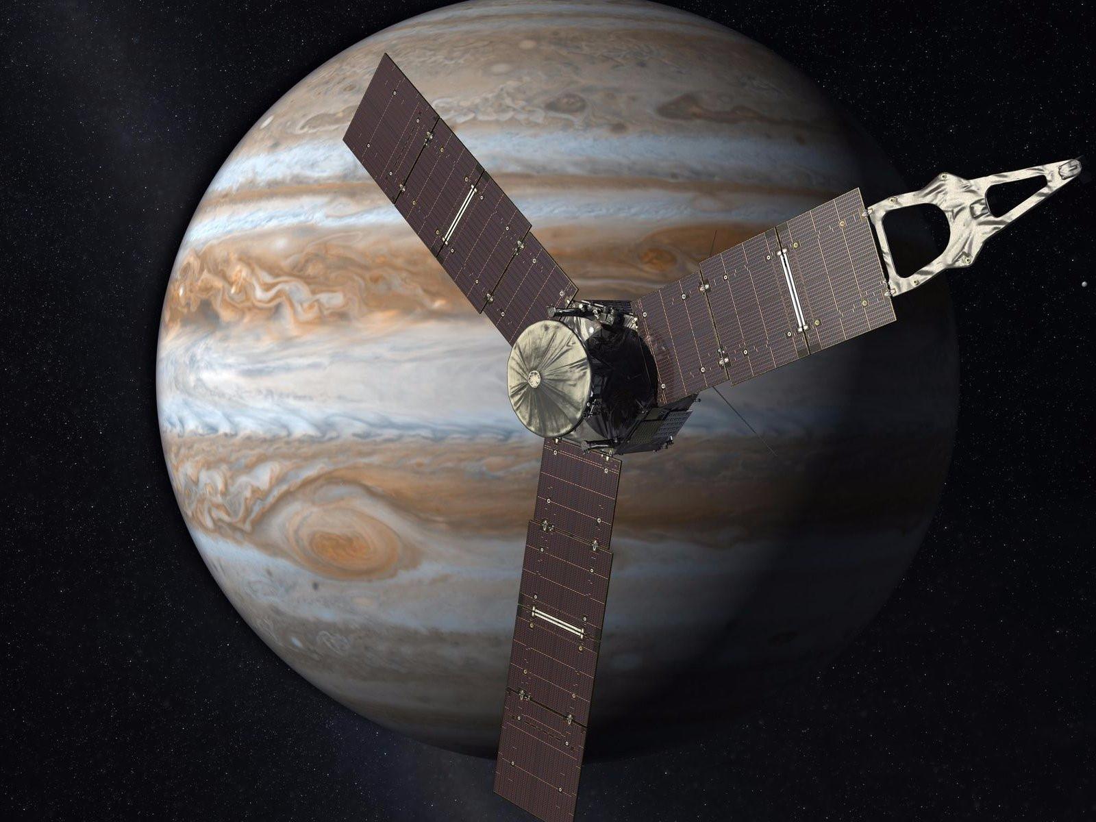 Tàu vũ trụ của NASA sắp bay qua Vết Đỏ Lớn trên Sao Mộc
