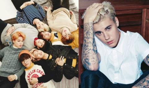 BTS áp đảo Justin Bieber tại bình chọn Super Bowl 2018