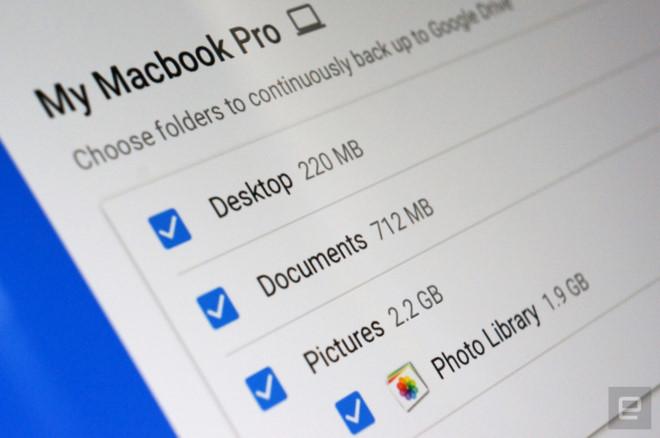 Google tung công cụ để backup máy tính