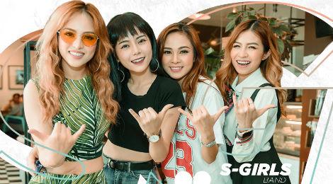 """S-Girls: """"Chúng tôi không phải con gái nhà giàu, chỉ đi hát cho vui"""""""