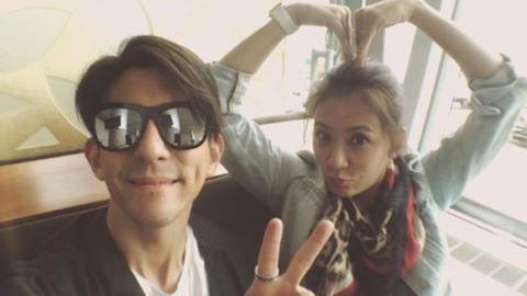 Giả Tịnh Văn và chồng trẻ rời Việt Nam, đã về đến Đài Loan