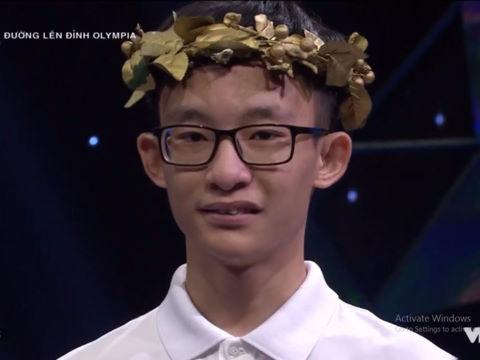 """Nam sinh Hà thành """"thắng không nói nhiều"""" ở trận thi tháng Olympia"""