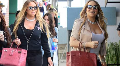 Bóc giá mẫu túi đắt đỏ được Mariah Carey mang theo mọi nơi