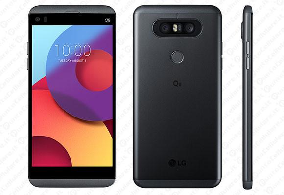 LG lặng lẽ ra mắt smartphone Q8: Bản thu gọn của V20