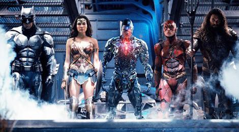 Đội hình Justice League của DC chính thức hình thành