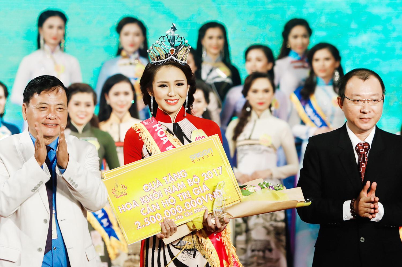 Người đẹp An Giang đoạt danh hiệu Hoa khôi Nam Bộ