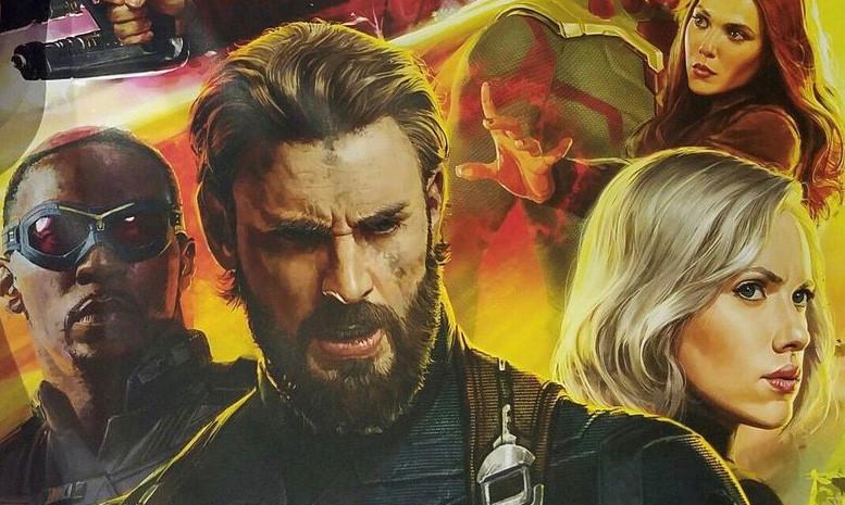 """Captain America để râu khác lạ trong poster mới của """"Infinity War"""""""
