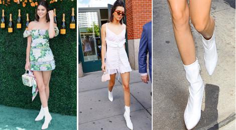 Diện boots giữa ngày hè, Kendall Jenner vẫn biến thành trào lưu mới
