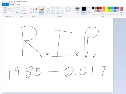 Microsoft Paint bị khai tử