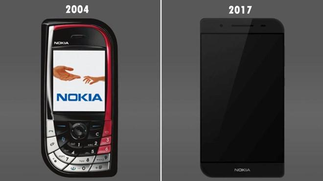 """Thiết kế Nokia """"chiếc lá"""" phiên bản 2017"""