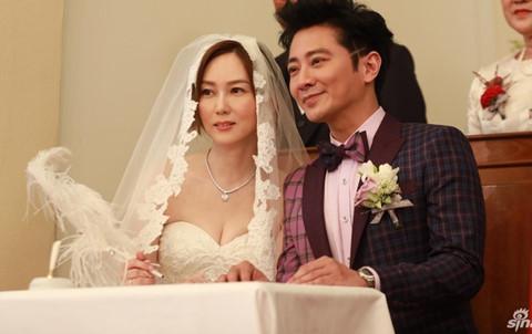 """Lễ cưới giản dị của tài tử """"Lục Tiểu Phụng"""" và sao nữ TVB"""