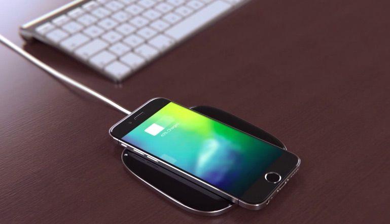 Lộ ảnh linh kiện cho thấy iPhone 8 dùng sạc không dây