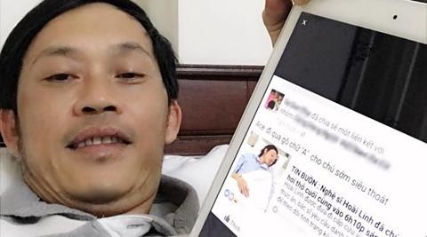 Nghệ sĩ Hoài Linh lên tiếng khi lại bị đồn qua đời