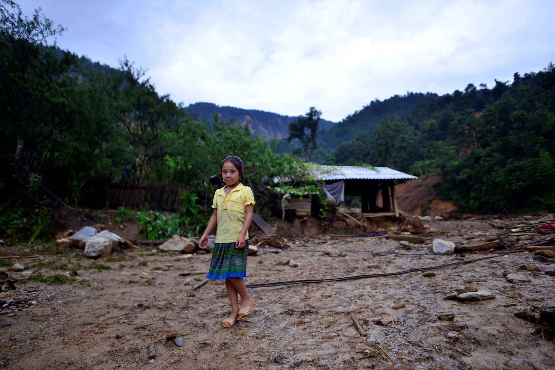 Cuộc sống không nhà cửa của người dân sau lũ quét tại Mù Cang Chải