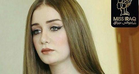 Tân hoa hậu Iraq bị tước vương miện vì gian dối chuyện kết hôn