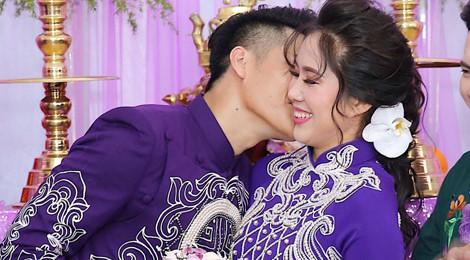 Lê Phương rạng ngời trong lễ cưới lần hai ở Trà Vinh