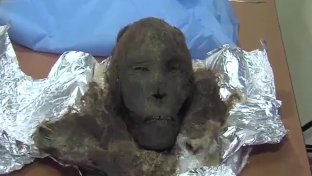 Xác ướp phụ nữ còn nguyên tóc, lông mi sau 900 năm